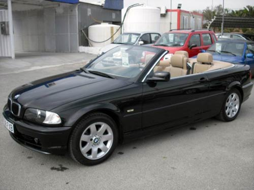 bmw 325i cabriolet used car costa blanca spain second. Black Bedroom Furniture Sets. Home Design Ideas