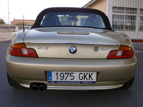 Bmw Z3 Roadster Cabriolet Used Car Costa Blanca Spain