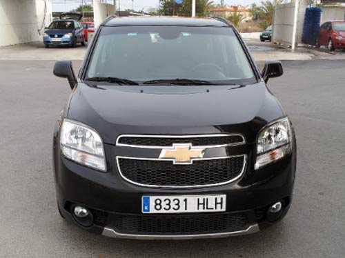 chevrolet orlando used car costa blanca spain second hand cars available costa blanca and. Black Bedroom Furniture Sets. Home Design Ideas