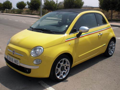 Used Cars Under 5000 >> Fiat 500 Cabriolet - Used car costa blanca spain - Second ...