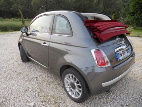 fiat 500 cabriolet used car costa blanca spain second. Black Bedroom Furniture Sets. Home Design Ideas