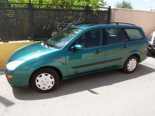 car image for printing & Ford Focus Ghia Estate - Used car costa blanca spain - Second hand ... markmcfarlin.com