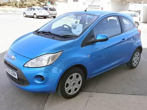 Used Ford_ka_style_rhd_en__liteblu  Costa Blanca
