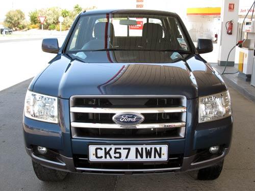 Ford Ranger Twincab Used Car Costa Blanca Spain Second