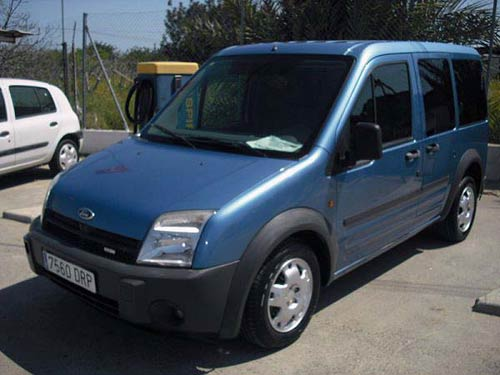 Ford Tourneo Connect Transit - Used car costa blanca spain ...