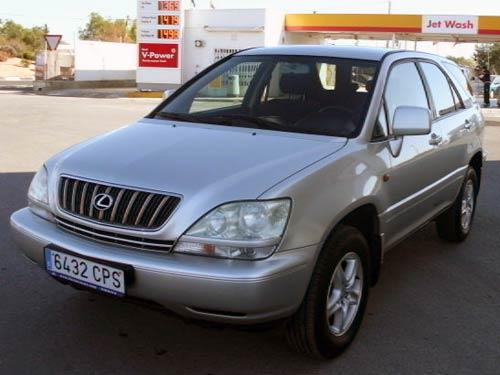 Used Lexus Rx300 Autotip 03 Sil 0 Costa Blanca