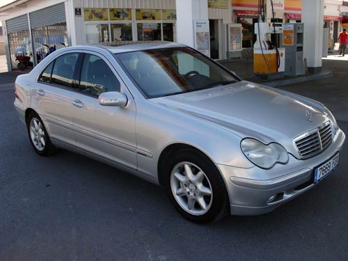 second hand car mercedes c270 cdi used car available costa blanca and beyond. Black Bedroom Furniture Sets. Home Design Ideas