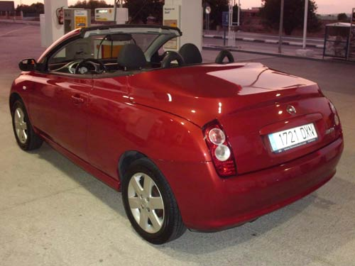 Nissan Micra Cabriolet Used Car Costa Blanca Spain