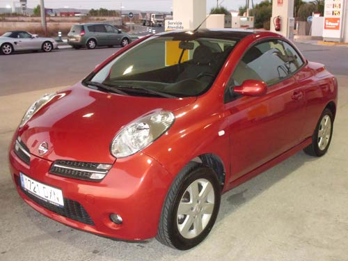 nissan micra cabriolet - used car costa blanca spain