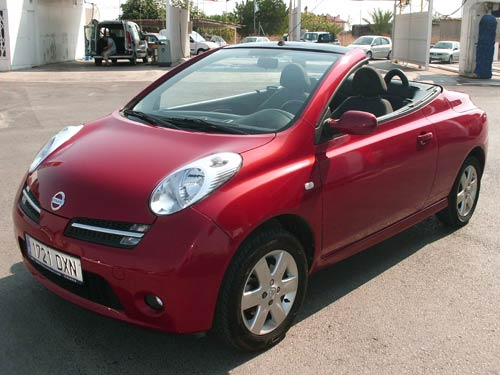 nissan micra cabriolet used car costa blanca spain. Black Bedroom Furniture Sets. Home Design Ideas