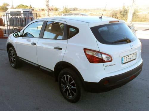 used nissan qashqai 4x4 car costa blanca spain second hand cars available costa blanca and beyond. Black Bedroom Furniture Sets. Home Design Ideas