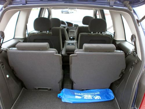 7 Seater Vehicles >> Opel Zafira 7-Seater Used car costa blanca spain - Second ...