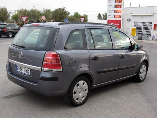 Opel Zafira Used Car Costa Blanca Spain Second Hand