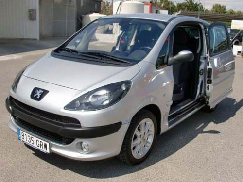 Peugeot 1007 Used Car Costa Blanca Spain Second Hand