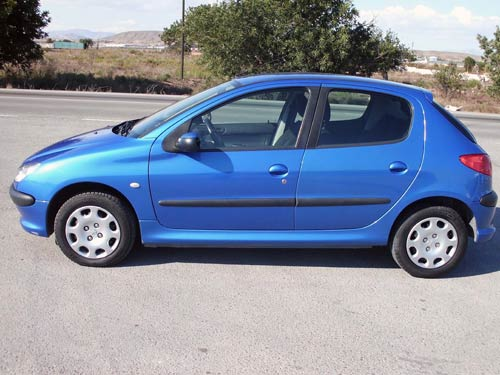 peugeot 206 used car costa blanca spain second hand cars available costa blanca and beyond. Black Bedroom Furniture Sets. Home Design Ideas