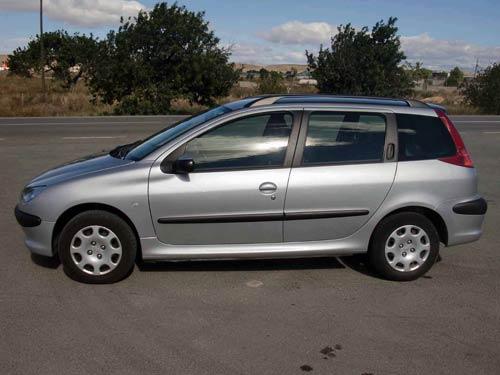 Peugeot 206 SW Estate - Used car costa blanca spain - Second hand ...