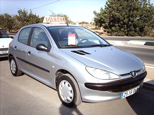Vehicle... Peugeot 206 - Used car available Costa Blanca and beyond!
