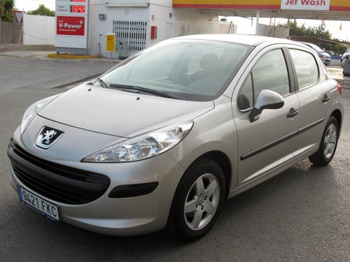 peugeot 207 used car costa blanca spain second hand cars available costa blanca and beyond. Black Bedroom Furniture Sets. Home Design Ideas