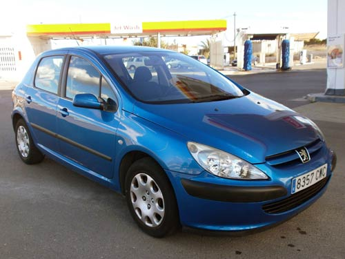 peugeot 307 auto tipronic used car costa blanca spain second hand cars available costa. Black Bedroom Furniture Sets. Home Design Ideas