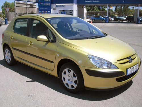 Peugeot 307 HDi - Used car costa blanca spain - Second hand cars ...