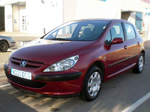 Peugeot 307 - Used car costa blanca spain - Second hand cars ...