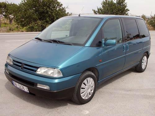 Peugeot 807 Kokemuksia