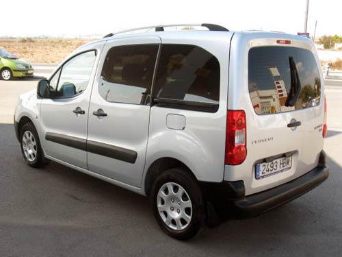Peugeot Partner Teepee Used Car Costa Blanca Spain