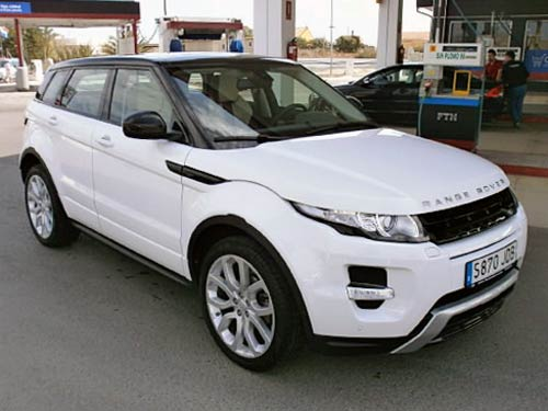 range rover evoque used car costa blanca spain second. Black Bedroom Furniture Sets. Home Design Ideas