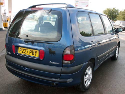 Renault Seven Seater Car >> Renault Espace 7 SEATER - Used car costa blanca spain - Second hand cars available Costa Blanca ...