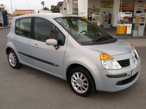 renault modus used car costa blanca spain second hand cars available costa blanca and beyond. Black Bedroom Furniture Sets. Home Design Ideas
