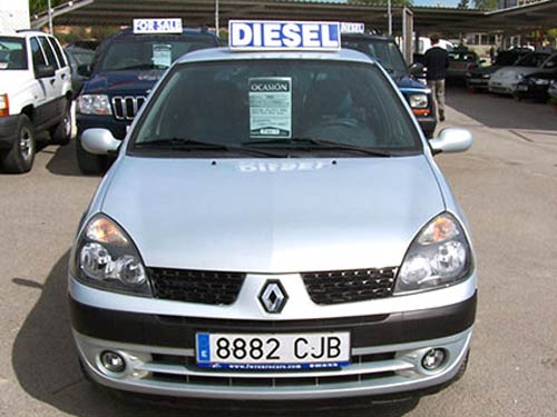 renault clio billabong used car costa blanca spain second hand cars available costa blanca. Black Bedroom Furniture Sets. Home Design Ideas