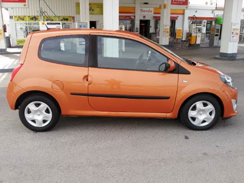 renault twingo auto used car costa blanca spain second hand cars available costa blanca and. Black Bedroom Furniture Sets. Home Design Ideas