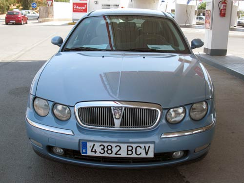 rover 75 used car costa blanca spain second hand cars. Black Bedroom Furniture Sets. Home Design Ideas