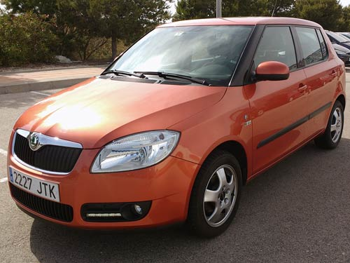 skoda fabia automatic used car costa blanca spain second hand cars available costa blanca and. Black Bedroom Furniture Sets. Home Design Ideas