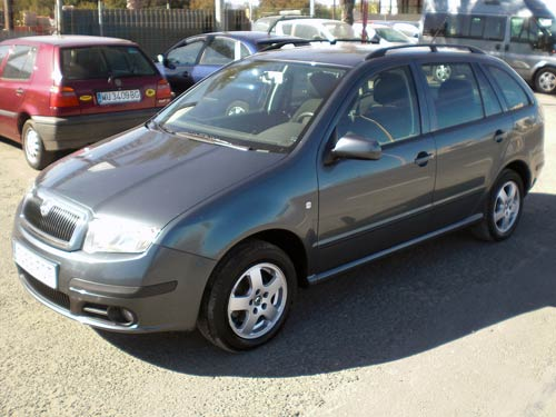 Skoda Fabia Estate Used Car Costa Blanca Spain Second