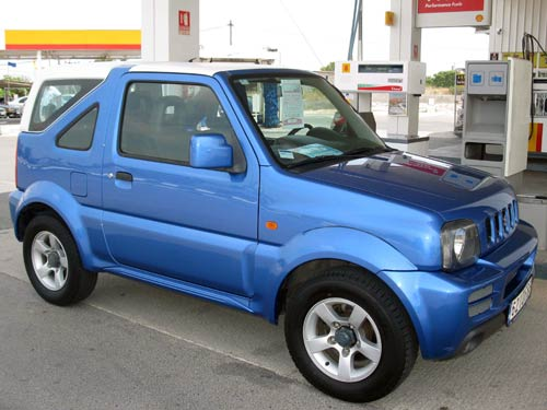 suzuki jimny used car costa blanca spain second hand. Black Bedroom Furniture Sets. Home Design Ideas