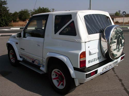 Used Suzuki Vitara Cabrio 95 White 6 Costa Blanca