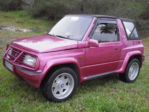 Suzuki Vitara Jlx Pink