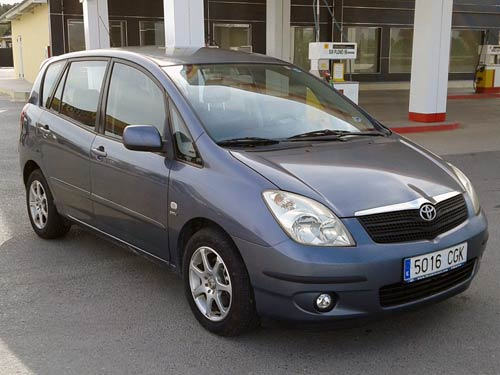 toyota verso used car costa blanca spain second hand. Black Bedroom Furniture Sets. Home Design Ideas