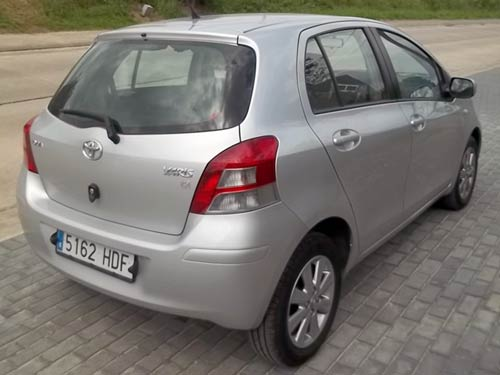 toyota yaris used car costa blanca spain second hand cars available costa blanca and beyond. Black Bedroom Furniture Sets. Home Design Ideas