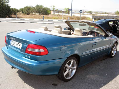 Volvo C70 T5 Cabriolet - Used car costa blanca spain - Second hand ...
