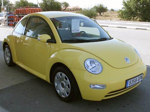 Vw Beetle Yellow on Vw Beetle Back Lights