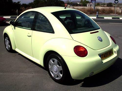 VW Beetle - Used car costa blanca spain - Second hand cars ...
